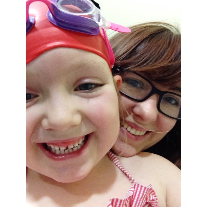 My Little Swimming Bug {The Ordinary Moments}