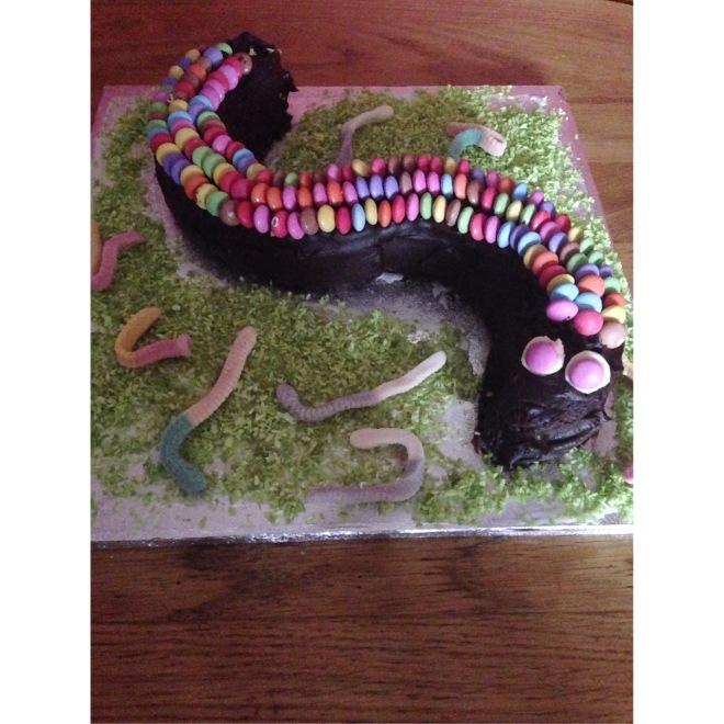 Snake Cake…